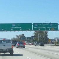 I 405 i 10 interchange intersection in los angeles photo taken at i 405 i 10 interchange by sham b on sciox Choice Image