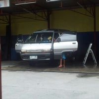 Photo taken at Rhed One Car Wash by John F. on 6/8/2012