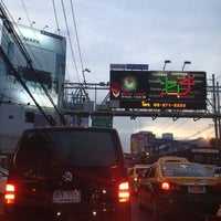 Photo taken at Ratchada-Lat Phrao Intersection by ♡Ploy♡ K. on 5/2/2012
