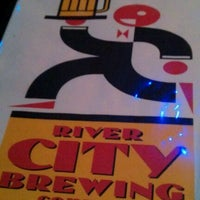 Photo taken at River City Brewing Company by alison on 1/15/2012
