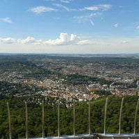 Photo taken at Stuttgart Television Tower by Sarah D. on 9/10/2011