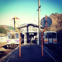 Photo taken at Bingo-Ochiai Station by c50cub96 on 11/26/2011