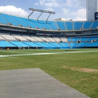 Photo taken at Bank of America Stadium by Emile K. on 8/17/2012