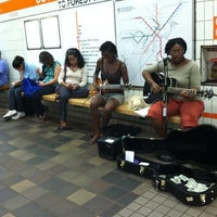 Photo taken at MBTA Downtown Crossing Station by Katie B. on 8/9/2011
