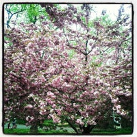 Photo taken at Fort Tryon Park by Landes T. on 4/15/2012