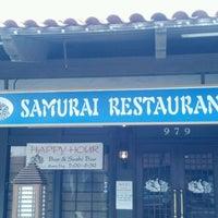 Photo taken at Samurai Japanese Restaurant by Justin C. on 9/6/2011
