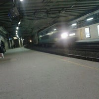 Photo taken at Brussels-Schuman Railway Station by Natacha V. on 11/7/2011