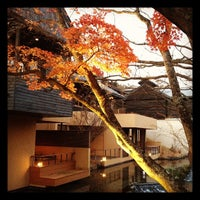 Photo taken at Hoshinoya Karuizawa by moroco on 11/16/2011
