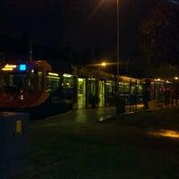 Photo taken at Malin Bridge Tram Stop by Mike G. on 10/10/2011