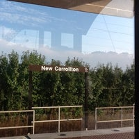 Photo taken at New Carrollton Metro Station by Tinu A. on 9/6/2012