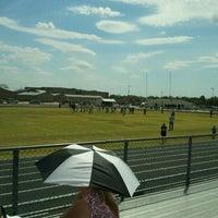 Photo taken at Anna High School Stadium by Tony H. on 9/10/2011