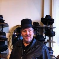 Photo taken at Goorin Bros. Hat Shop - Larimer Square by Ernie I. on 12/12/2011