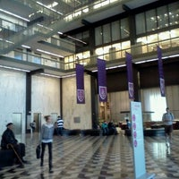 Photo taken at NYU Bobst Library by Jose B. on 4/17/2011