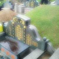 Photo taken at Teluk Bahang United Hokkien Cemetery by Kteik K. on 3/27/2011