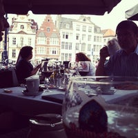 Photo taken at Restaurant De Graslei by Matthias D. on 7/5/2012