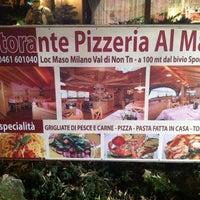 Photo taken at Ristorante Pizzeria al Maso by Luca F. on 12/9/2011