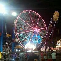 Photo taken at Deno's Wonder Wheel by Raul on 7/10/2011