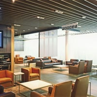 Photo taken at Lufthansa First Class Lounge by Bastian B. on 1/30/2012