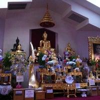 Photo taken at Wat Mongkoltepmunee (Thai Buddhist Temple) by Linda C. on 3/9/2012