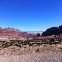 Photo taken at Black Dragon Canyon View Area by Michael B. on 11/27/2011
