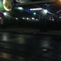 Photo taken at NFTA Metro Rail Erie Canal Harbor Station by Cae C. on 11/8/2011