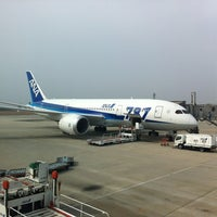 Photo taken at Hiroshima Airport (HIJ) by So D. on 3/8/2012