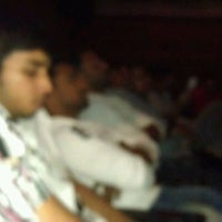 Photo taken at Jagadamba Theater by Santosh R. on 3/23/2012
