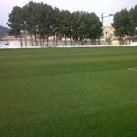 """Photo taken at Campo de Futbol   Antonio Martinez """"El Morao"""" by juan carlos m. on 1/15/2012"""