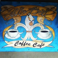 Photo taken at Who Dat Coffee Cafe by Adam D. on 2/27/2012