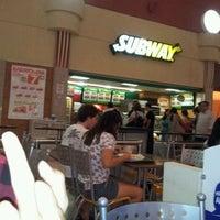 Photo taken at Subway by Tama Matheus B. on 12/28/2011