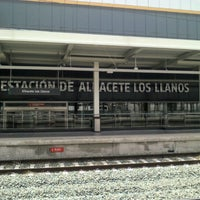 Photo taken at Albacete Railway Station - Los Llanos by Vicky T. on 6/9/2012