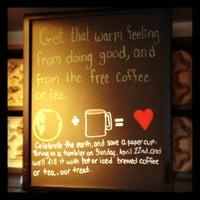 Photo taken at Starbucks by Jessica M. on 4/22/2012