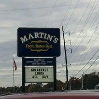 Photo taken at Martin's by Brad L. on 11/13/2011
