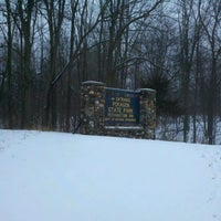 Photo taken at Pokagon State Park by Logan N. on 1/22/2012