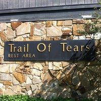 Photo taken at Trail of Tears Rest Area - Northbound by Maria A. on 4/1/2012