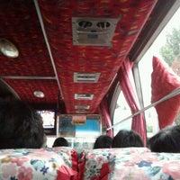 Photo taken at Terminal Lebak Bulus by izz _. on 4/27/2012