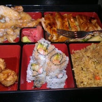 Photo taken at UMI Japanese Steakhouse by Cameron P. on 9/26/2011