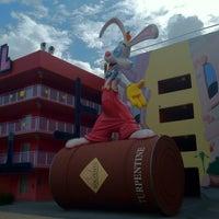Photo taken at Disney's Pop Century Resort by andrew k. on 11/29/2011