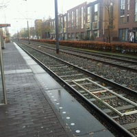 Photo taken at Tramhalte Vennepluimstraat by Angelique B. on 12/1/2011