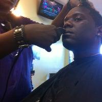 Photo taken at Prime Time Barbershop by Lewis T. on 6/28/2012