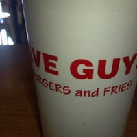 Photo taken at Five Guys by Eli Z. on 12/28/2011