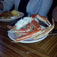 Photo taken at Captain George's Seafood Restaurant by Chris D. on 9/16/2011