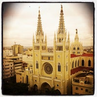 Photo taken at Catedral Metropolitana de Guayaquil by Carlos L. on 1/31/2012