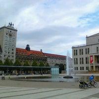 Photo taken at Augustusplatz by Peter C. on 7/30/2012