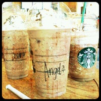 Photo taken at Starbucks Coffee by Angela Marie R. on 7/2/2012