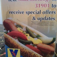Photo taken at Mike's Chicago Hot Dogs by Karyn L. on 11/12/2011