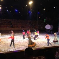 Photo taken at Dixie Stampede by Lorin V. on 4/1/2012