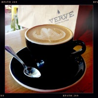 Photo taken at Verve Coffee Roasters by Stephanie A. on 12/18/2011