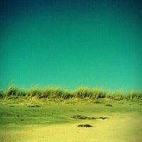 Photo taken at Hancock Beach by Jeni Z. on 10/10/2011