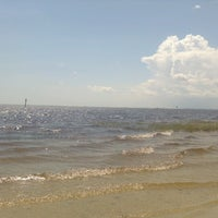 Photo taken at Shell Point Beach by Nikki F. on 9/3/2012